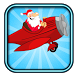santa flying reindeer by game dev rw