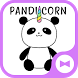 Cute Wallpaper Pandicorn Theme by +HOME by Ateam