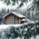 winter cabin wallpaper by motion interactive