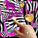 Zebra print live wallpaper by HD Wallpaper themes