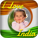 I Love India Photo Frames by Roxo Inc