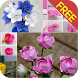 Paper Flower Craft Tutorial by bestfreeapps
