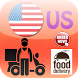 Usa Food Delivery by Kawanlahkayu
