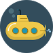 Flappy Ninja submarine by Katon Software