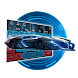 Blue Car Keyboard by liupeng