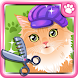 Girl Games: Pet Cat Salon Care by Chilican.com