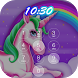 Pop unicorn keypad lock screen by new app 2018