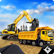 Heavy Road Excavator Crane by 3D Games Village