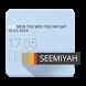 Minimal Attention clock by CYBERHOLIC