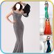 Women Gown Dress Montage by Somi