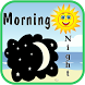 Good Morning & Good Night by Greetings App Creator