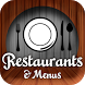 Restaurants & Menus by Donald P Burns