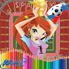 How to Color Winx Club- color book Pro by Colorsapps77