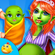 Halloween Newborn Mommy & Baby by Gameiva