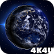 4K Earth Planet Video Live Wallpaper by 4K4U