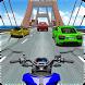 Moto Bike Race Highway Traffic by UniBit
