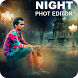 Night Photo Editor - Night Photo Frames by DaglocApps