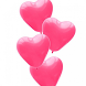 Pink Hearts Wallpapers by pames