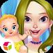 Magic Princess And Cute Baby by Linghuchong