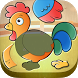 Toddler Kids Puzzle - Animals by Abuzz