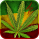 Marijuana Leaf HD Battery by BatteryWidgets