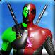 Pool Spider Hero: Mix of Dead superhero n Rope Man by Nautoriouz