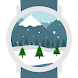 Winter Landscape Watch Face by OAJOO