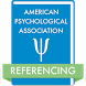 APA Referencing by Catalol