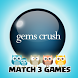 Gems Crush Match 3 by Inside Mobile