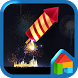 Fire Works Dodol Theme by Camp Mobile for dodol theme
