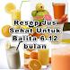Resep Jus Sehat Untuk Balita by Animagy Studio