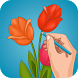 How to Draw Flowers by Mobilicos