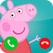 Fake call from pepa prank pig by NiceApps9