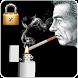 Smoke Cigarette Screen Lock by OriginProApps