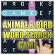 ANIMAL & BIRD WORD SEARCH GAME by Learn with Quiz