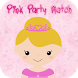 Pink Party Match Game by Game Giggle