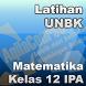 Latihan UNBK Matematika IPA SMA by Aqila Course