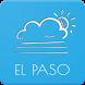 El Paso Weather Forecast by AlVl.Dev