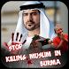 Stop Killing In Burma Profile Pic DP by meritapps