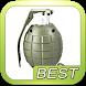 Grenade Sound Weapon Shaker by Popular App HD