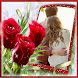 Lovely Roses Photo Frames by GoPixelVJ