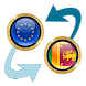 Euro x Sri Lanka Rupee by Currency Converter X Apps