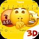 Emoji 3D Animated Theme&Emoji Keyboard by Emoji GIF Maker Fans