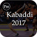 Pro Kabaddi Schedule 2017