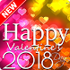Valentine Greeting Card 2018 by Angle App