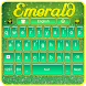 Green Emerald Keyboard by Luna Themes