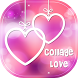 New Collage Love Photo Frame by Content2Studio
