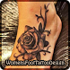 Foot Tattoo Ideas for Women by Ellen Mileham