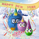 Happy New Year Monsters by New themes