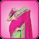 Women Saree Photo by App Basic